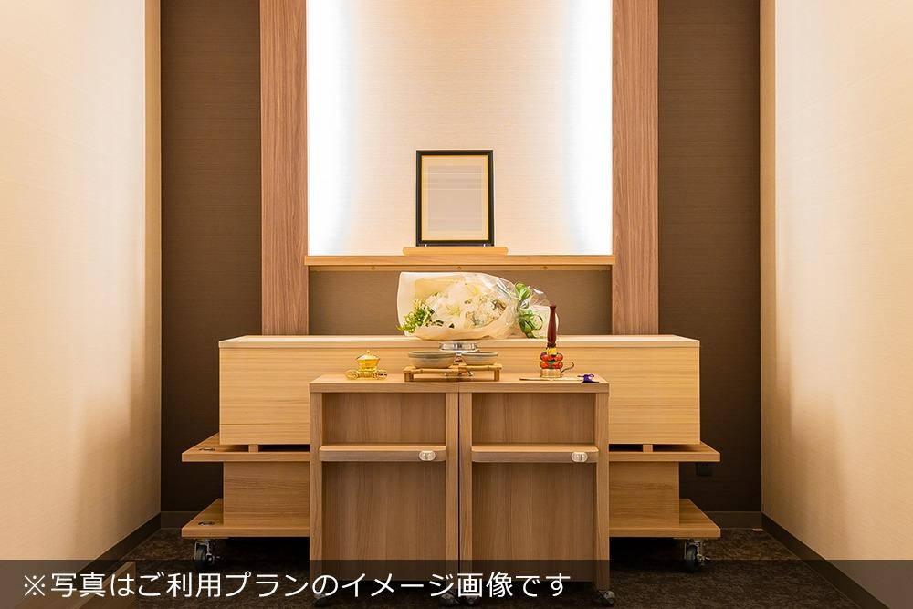 アンケート|直葬プランご利用の場合の祭壇イメージ写真