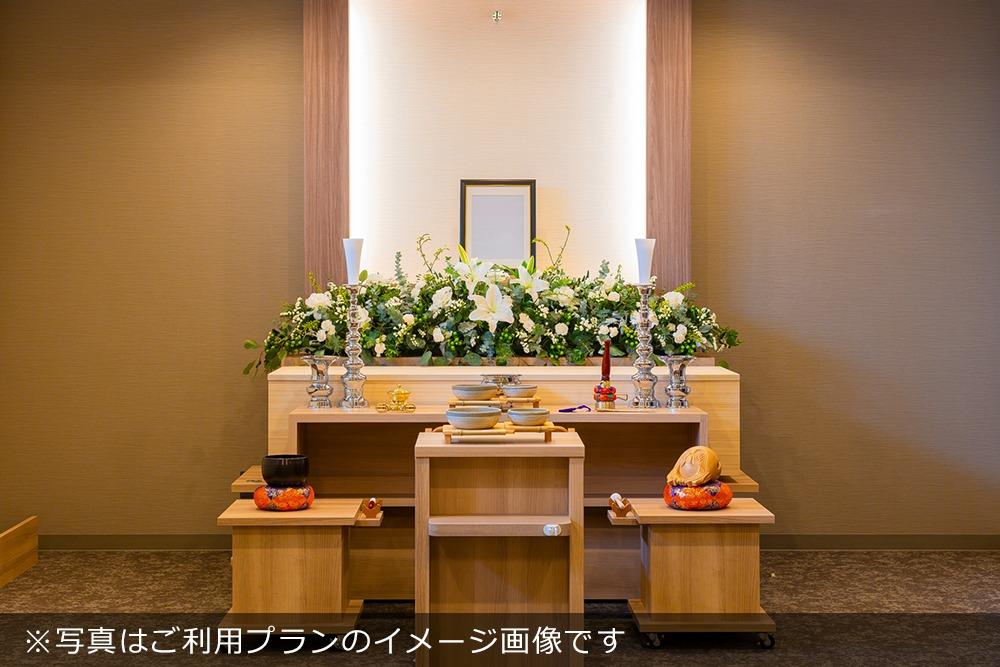 アンケート|一日葬プランご利用の場合の祭壇イメージ写真